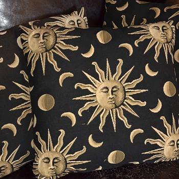 Fornasetti [?] Pillows found in the trash - Rugs and Textiles