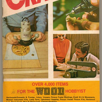 1975/76 - Craftsman Wood Service Co. Catalogue - Paper