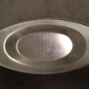 Revere tray 1930&#039;s &quot;Norman Bel Geddes&quot; - Art Deco