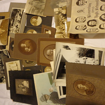 Vintage Lot of Photographs