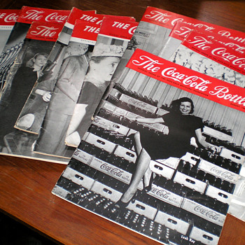 1940s Coca-Cola Bottler Magazines - Coca-Cola