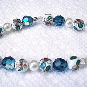 Pretty Bead Bracelet! Can't Remember What These Beads Are Called