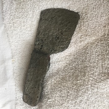 Found small hatchet head. A bit rusty but very interesting.