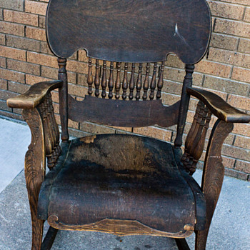 Antique Rocking Chair