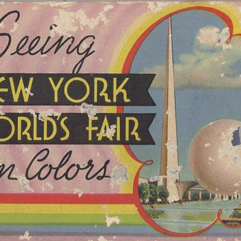 NEW YORK WORLD&#039;S FAIR - Paper