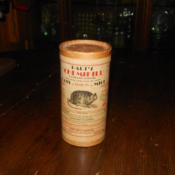 Hart's Chemikill Rat and Mice Poison - Advertising