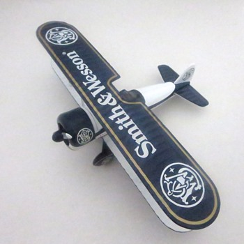 S&W Stearman Bi-Plane Coin Bank - Coin Operated