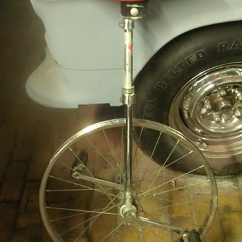vintage stelber unicycle