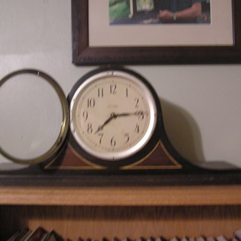 My Seth Thomas Mantle Clock.  It works!