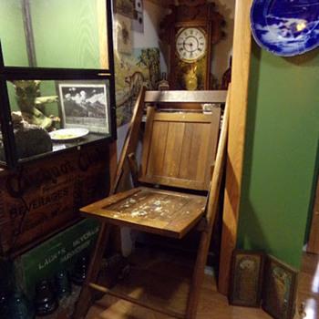 1920s Folding Chair?