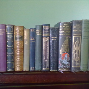 13 Old books dating way back. Details of each book is in DESCRIPTION - Books