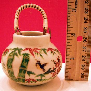 Tiny Asian jar