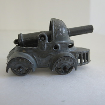 Mini Metal Cannon - Toys