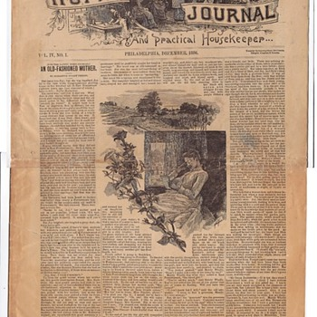 The LadyHome Journal December 1886 - Paper