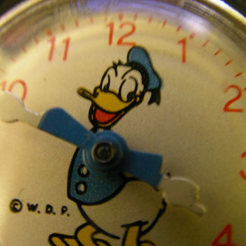 1955 Donald Duck Wristwatch by US Time