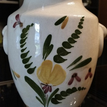 old made in finland vase