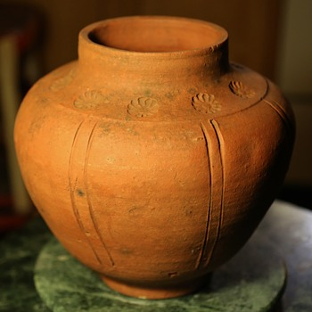 Arts & Crafts Unglazed Pot