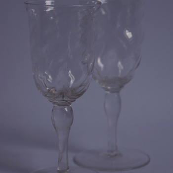 Whitefriars Sherry Glasses - Art Glass