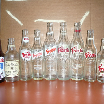 Frostie Root Beer Bottles - Bottles