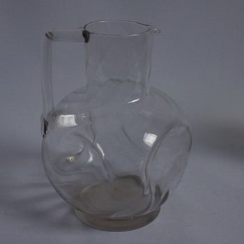 Dimpled Jug - Glassware