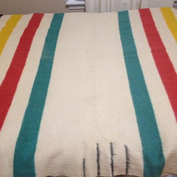 Hudson Bay Point Blanket  - Rugs and Textiles