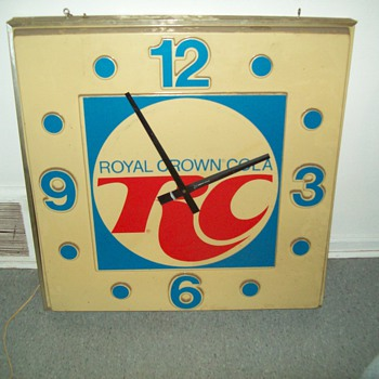 Rc cola clock need info - Clocks