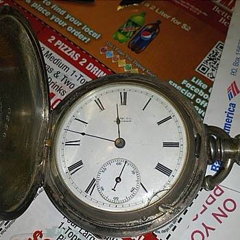 A.W. Co. Waltham Coin Silver - Pocket Watches