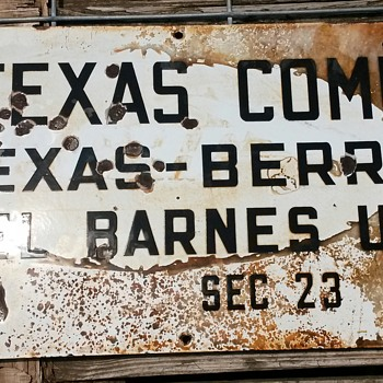 The Texas Oil Company - Signs