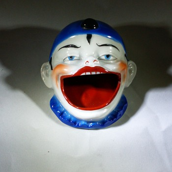 Germany Pierrot Clown Ash tray