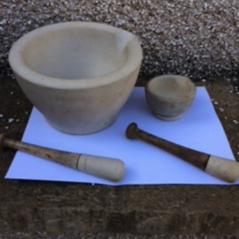 Wedgwood mortar and pestle sets