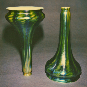 QUEZAL ART GLASS LILY SHADES - Art Glass