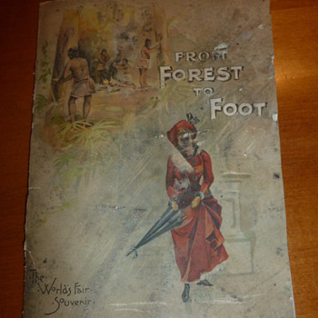 1890 World's Fair Souvenir Book - Books