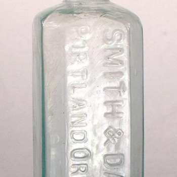 Smith & Davis - Portland, Oregon - First Druggists in the Oregon Territory - Bottles