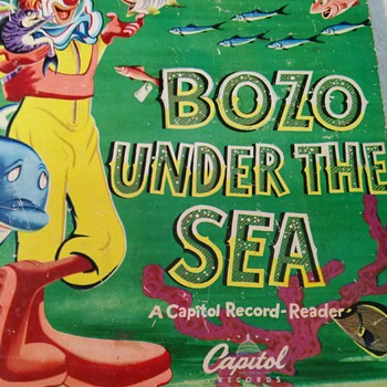 BOZO UNDER THE SEA RECORD BOOK