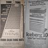 Vintage cigarette ads