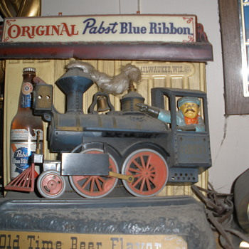Pabst Blue Ribbon Train