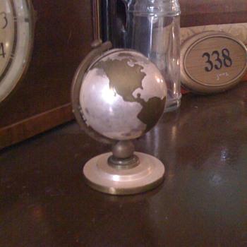 Globe alarm clock