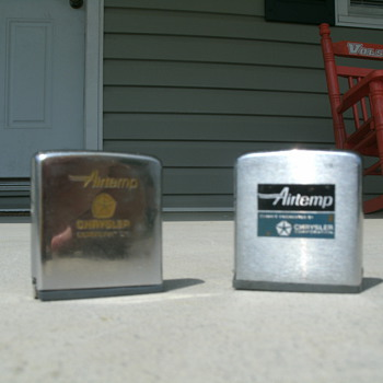 Zippo Chrysler Airtemp tape measures