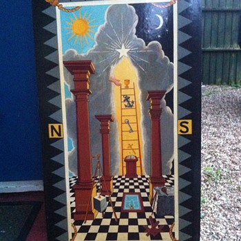 Masonic Tracing Board - Visual Art