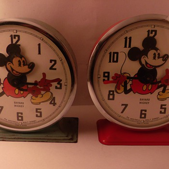 Difference between the Early and Late Disney Bayards Part II - Clocks
