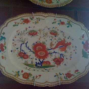 Chrysanthemum and Dragon Dish - China and Dinnerware
