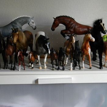 Breyer Horse collection