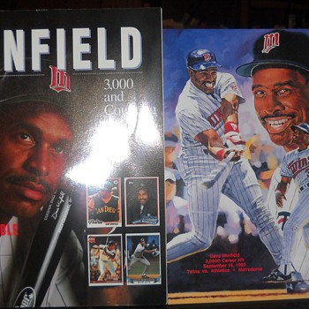 Dave Winfield 3,00th Commemorative magazine and print - Baseball