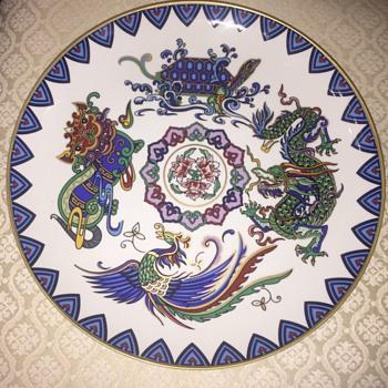 Pretty plate - Asian