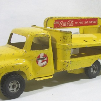 Buddy L Coca-Cola Truck - Model Cars