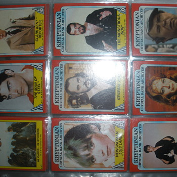 my superman II 1980 topps picture card series
