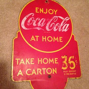 1930's Coca-Cola Rack Sign - Coca-Cola