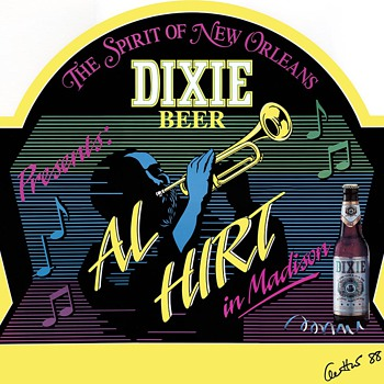 Al Hirt / Dixie Beer signed poster