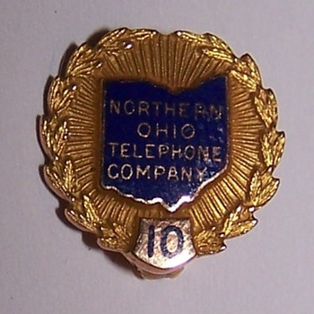 Northern Ohio Telephone Pin - Telephones