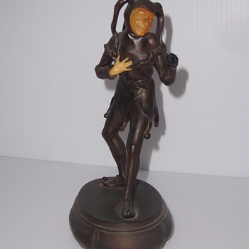 Art Deco Jester Figurine - Art Deco